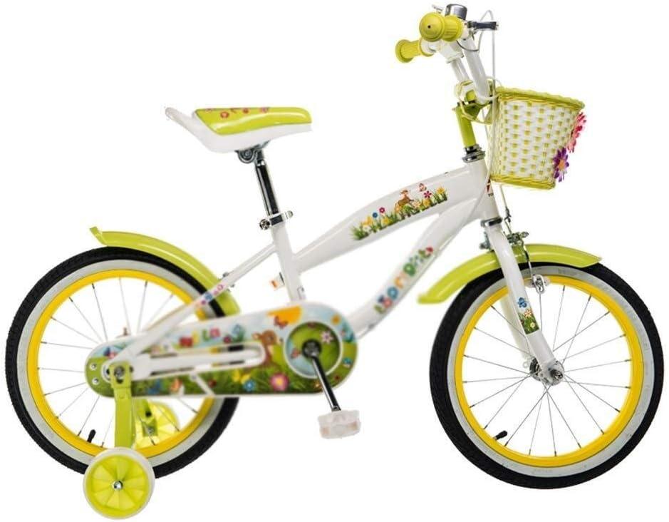 MDBYMX Bicicleta Infantil Bicicleta Infantil Princesa Estudiante ...