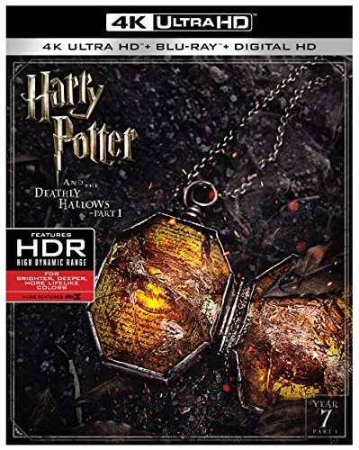 4K Blu-ray : Harry Potter And The Deathly Hallows Pt.1 (With Blu-Ray, 4K Mastering, 2 Disc)