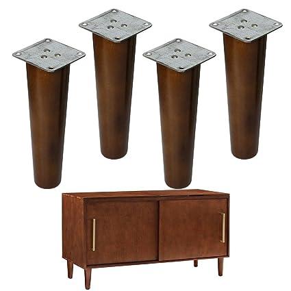 Patas de repuesto para muebles de madera, 8 pulgadas, patas de sofá ...
