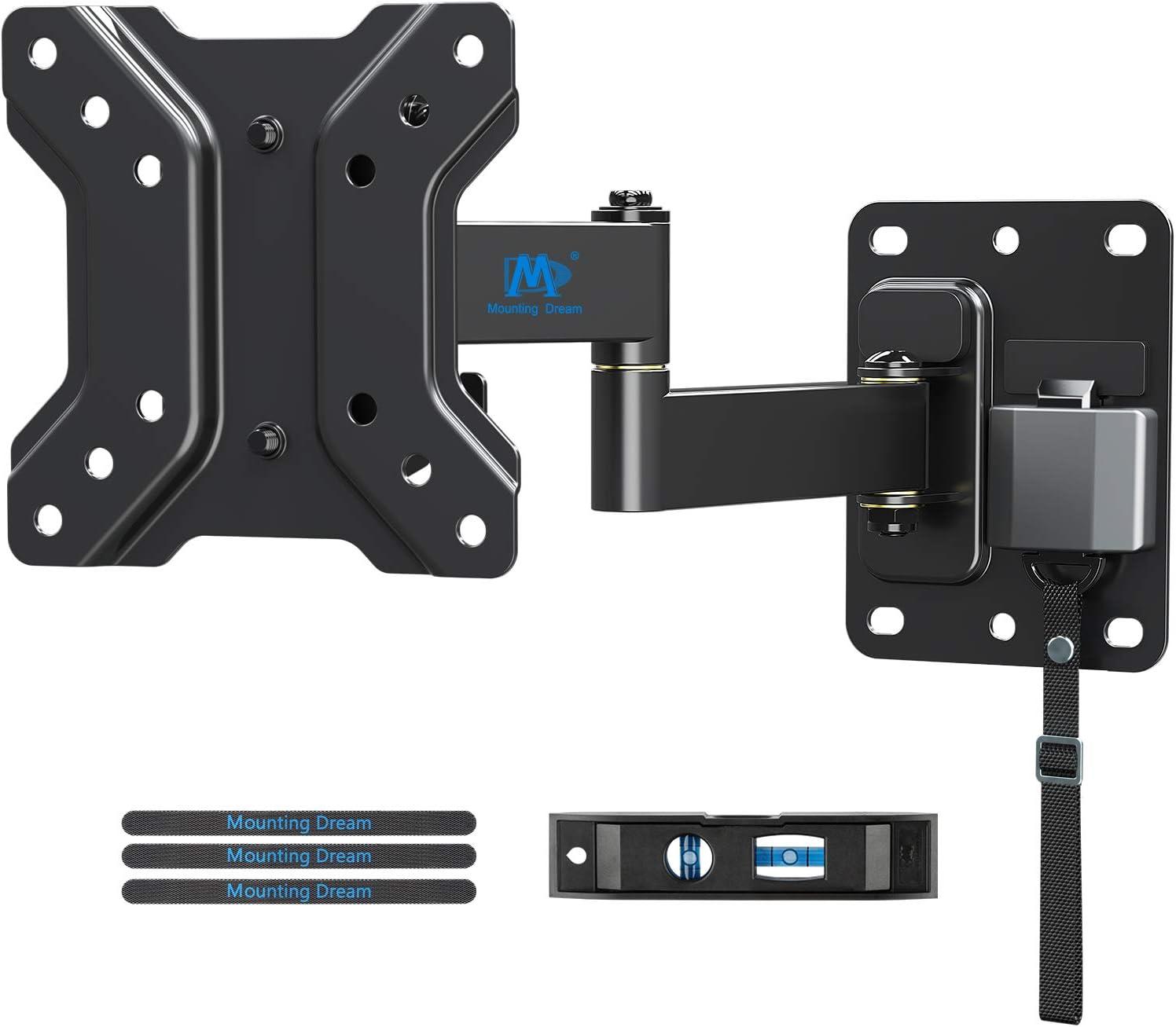 Mounting Dream Soporte de Pared TV Giratorio Inclinable Bloqueable para Caravana/Remolque/Barco para la Muchos los 10-26 Pulgadas LED, LCD y OLED TVs ...
