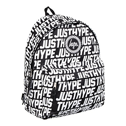Just Hype Kit 3 (AOP) - Bolso al hombro de Poliéster para hombre negro negro Talla única Sporting Just Hype