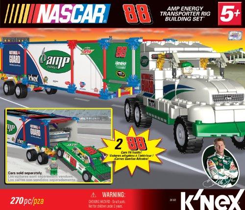 UPC 744476361691, K'NEX NASCAR Building Set: #88 Amp Energy Transporter Rig