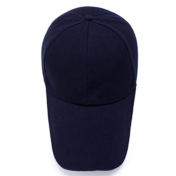 Amazon.com: Baseball Cap Snapback Caps Solid Color Fitted Casual Gorras Hip Hop Dad Hats Adjustable Size Perfect for Running Workouts and Outdoor Activities ...