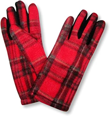 Ladies Tartan Gloves Royal Stewart Tartan