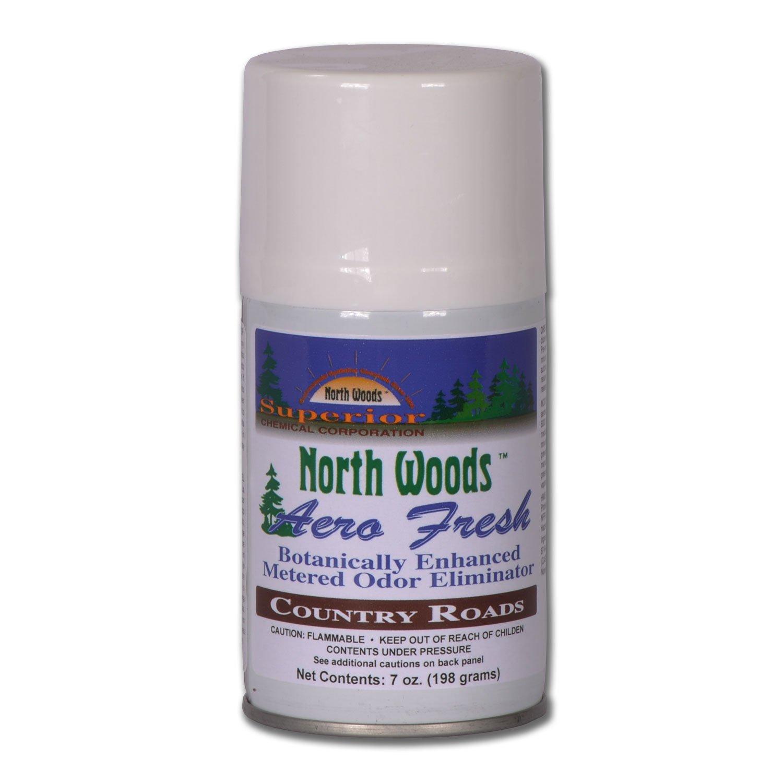 North Woods Aero Fresh - Country Roads - Air Freshener (Pack of 12)