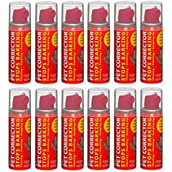 Pet Corrector – The Company of Animals – Bad Behavior and Training Aid - Quickly Stops Barking, Jumping, Digging, Chewing – Harmless and Safe- 30ml, Pack of 12
