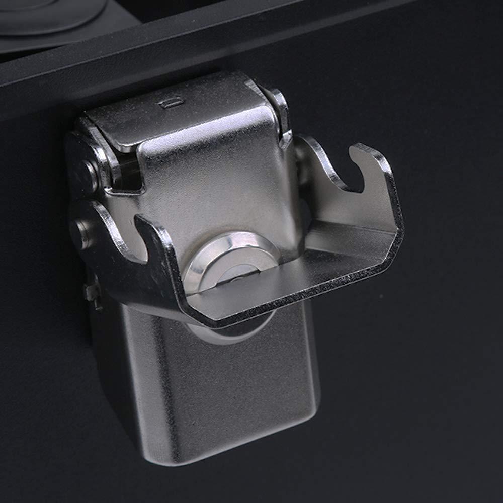 color tree CNC Aluminio Moto Ba/úles 45L//55L//65L para la Motocicleta Universal Negro