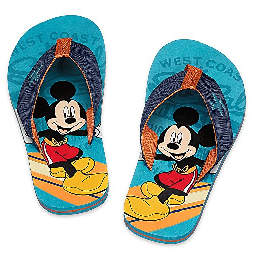 ffe50096c584 Disney Store Mickey Mouse Clubhouse Hang ten Flip Flops for ...