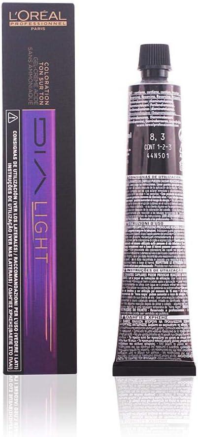 LOréal Professionnel Dia Light Gel-Creme Acide Sans Ammoniaque 8.3 Tinte - 50 ml