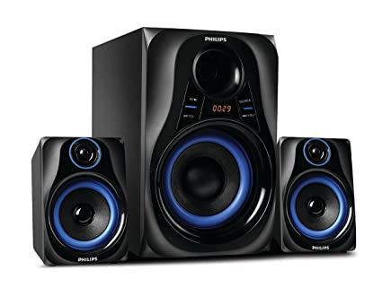 621b25699 Philips Dhoom MMS2580B 94 Home Theater System  Amazon.in  Electronics
