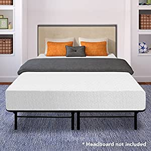best price mattress 10 memory foam mattress and 14 premium steel bed frame. Black Bedroom Furniture Sets. Home Design Ideas