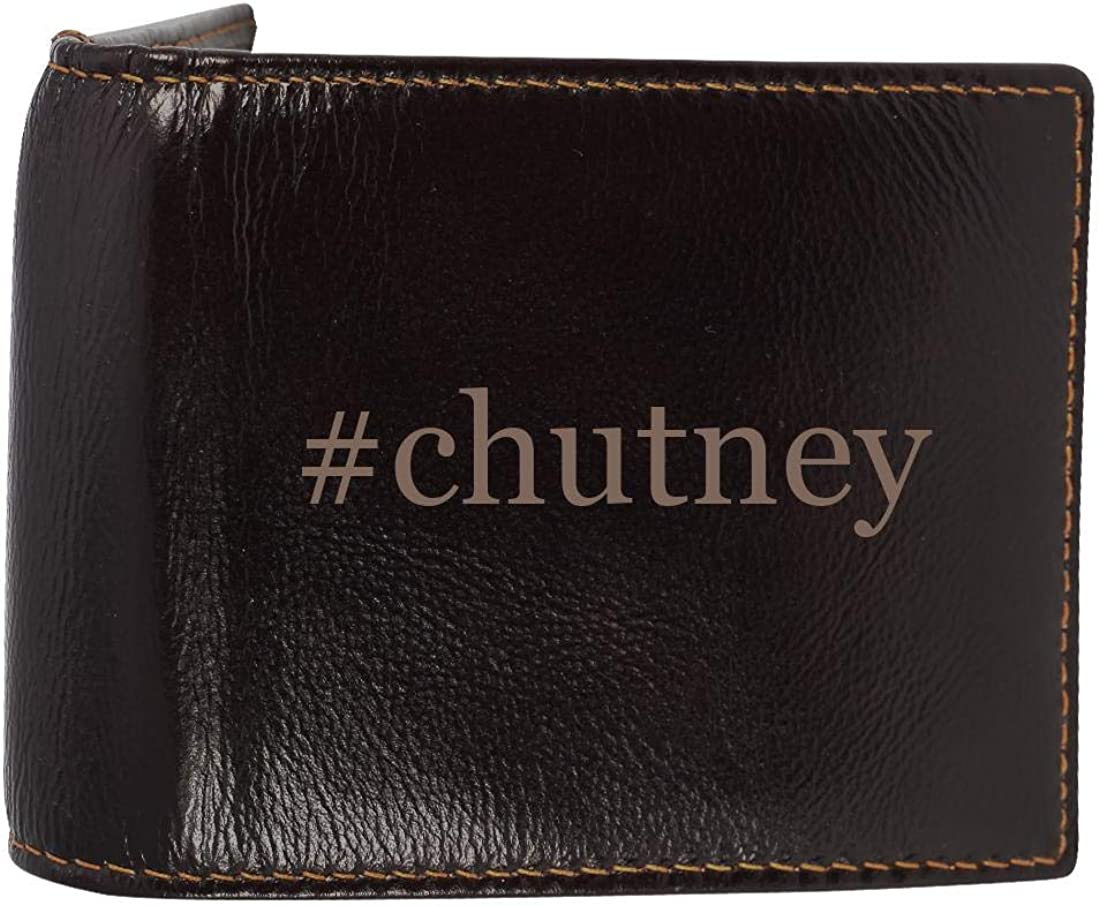 #chutney - Genuine Engraved Soft Cowhide Bifold Leather Wallet 61l3CfQ0cHL