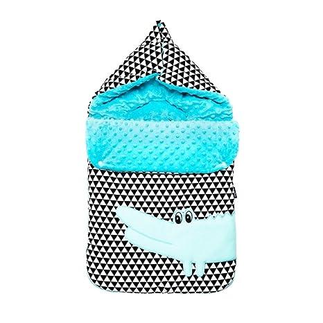 Zaffiro® Bébé Saco universal dormir almohada, bolsa, adecuado para la cáscara del coche, Maxi-Cosi, cochecitos, corredores, moisés etc. (cocodrilo)