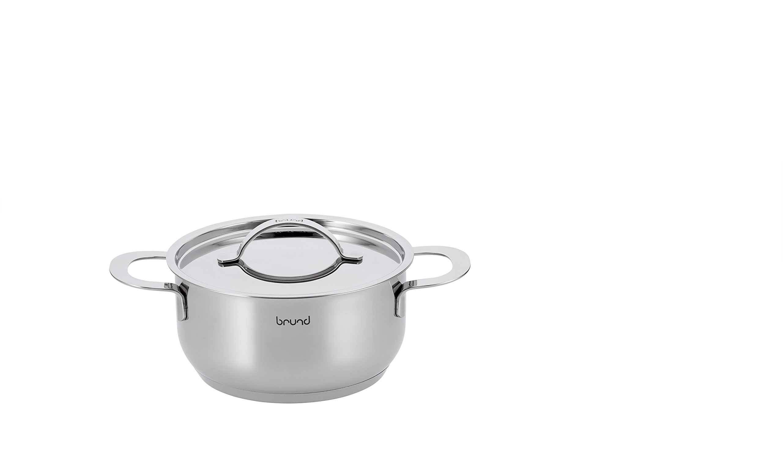 Brund Energy Dutch Oven, 2 Quart, Stainless Steel