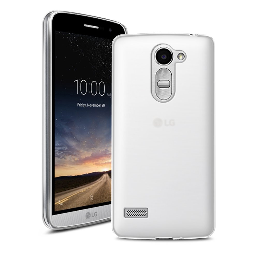 Mb Accesorios Funda Carcasa Gel Transparente para LG Ray X190, Ultra Fina 0,33mm, Silicona TPU de Alta Resistencia y Flexibilidad