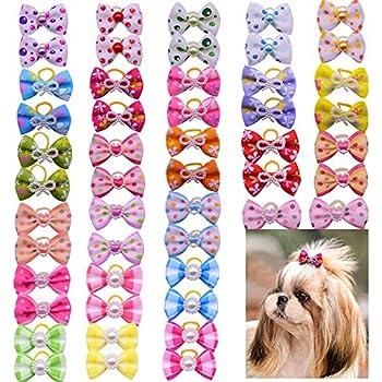 Aria 100 Count Rhinestone Rainbow Pet Hair Bow