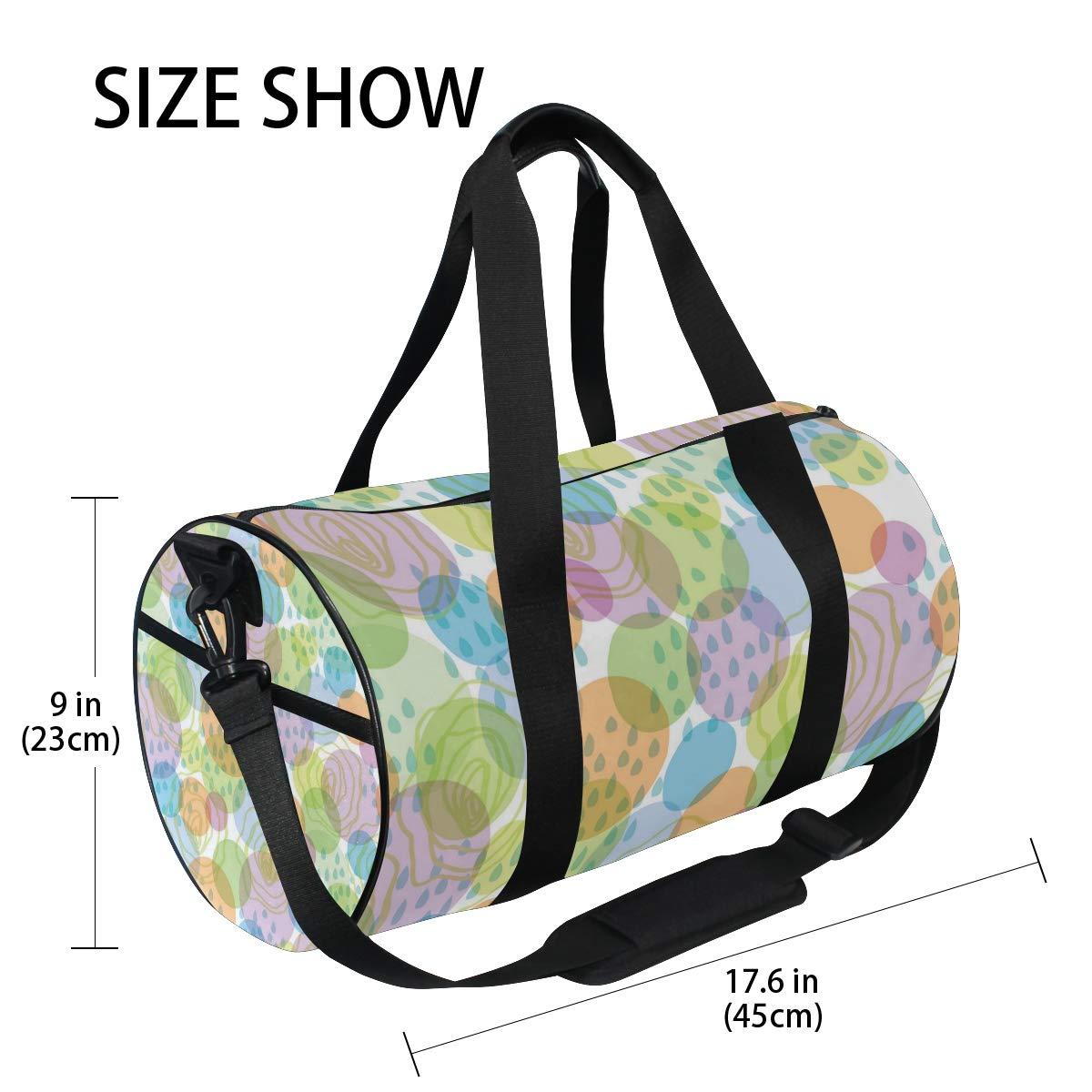 Fascinating Colorful RaindropsWaterproof Non-Slip Wearable Crossbody Bag fitness bag Shoulder Bag
