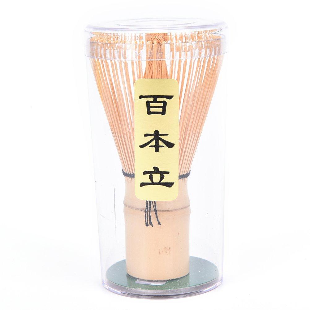 Eshylala Matcha Bamboo Whisk, Whisk Chasen Powder Japanese Tea Ceremony Accessory Rain Mood