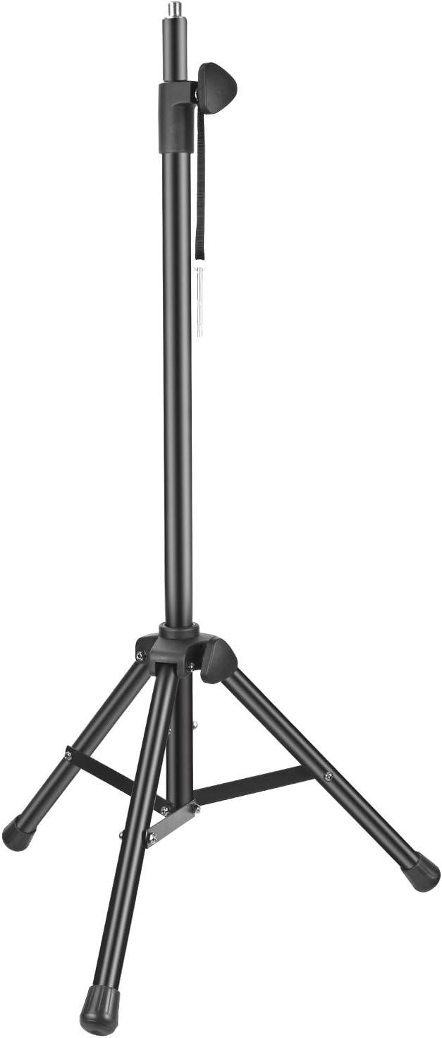 Neewer NW002-1 Soporte para Filtro Anti-Viento con Tubo de Aluminio, Antideslizante Pies,Altura Ajustable,165.5cm Soporte Adecuado para Apoyar Escudo de Aislamiento Acústico(Negro): Amazon.es: Instrumentos musicales