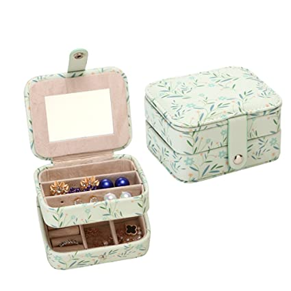 Teen Jewelry Box Best Amazon Fvstar Teen Girls Travel Jewelry Box Necklace Organizer
