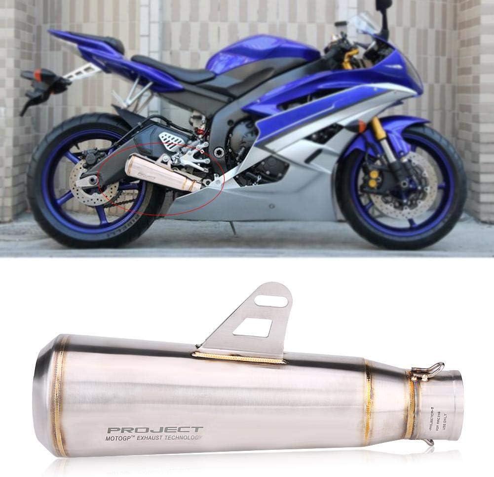 Titanium Qiilu 51mm Universal Motorcycle Modified Exhaust Muffler Pipe