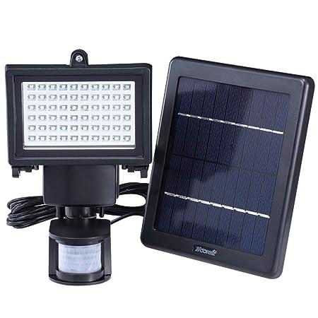 H-XH Solar Foco Proyector LED,Patio De Luz De Seguridad ...