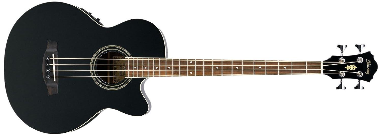 Ibanez AEB8E-BK Akustik Bass 4-Saiter