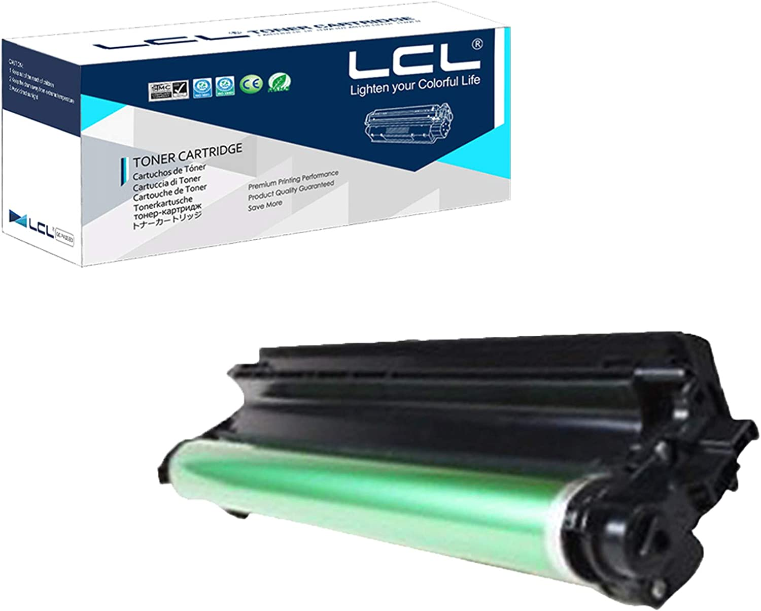Yellow CP6015XH Free 1 to 2 Day DELIVERY CP6015DE CP6015N QSD Compatible Drum Replacement for HP CB386A CP6015DN Works with: Color Laserjet CP6015 CP6015X 4-Pack