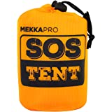 MEKKAPRO Emergency Survival Tent Shelter – 2 Person Tent – Survival Emergency Shelter, Tube Tent, Tarp