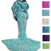 PETBON Mermaid Tail Blanket For Kids Girls Adult Best...