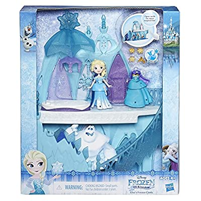 Disney Frozen Little Kingdom Elsa's Frozen Castle | Frozen Toys