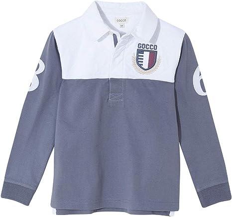 Gocco Polo Bicolor (Azul Suave Zi), 104 (Tamaño del Fabricante:3-4 ...