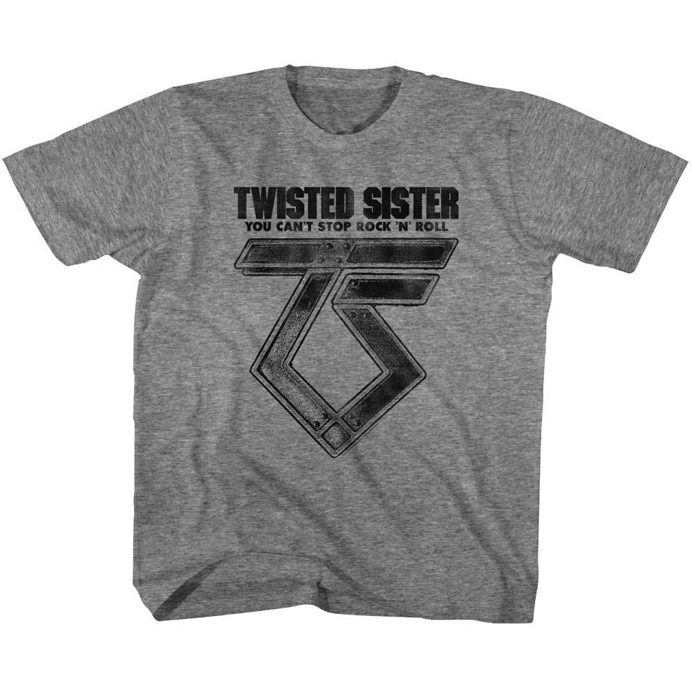 Twisted Sister Heavy Metal Band Can T Stop Rock N Roll T Shirt Tee