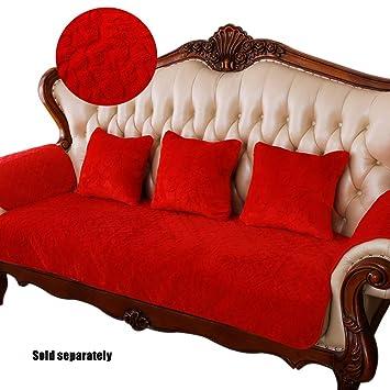 Astounding Amazon Com Plush Sofa Slipcover Thick Flannel Anti Slip Machost Co Dining Chair Design Ideas Machostcouk
