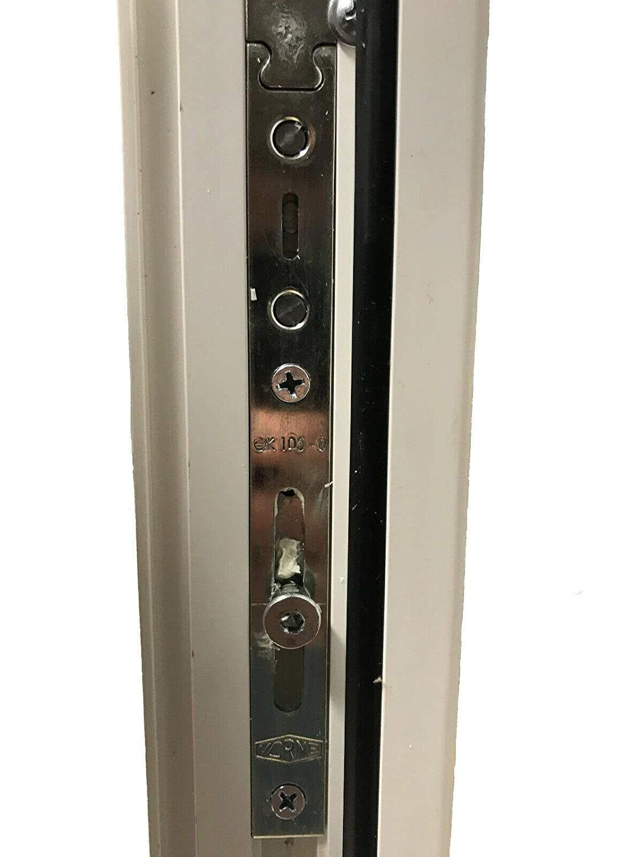 2 fl/ügelig mit Pfosten 2-fach-Verglasung BxH:1800x1400 mm JeCo Fenster Kunststofffenster Wohnraumfenster 60 mm Profil Sonderma/ße m/öglich