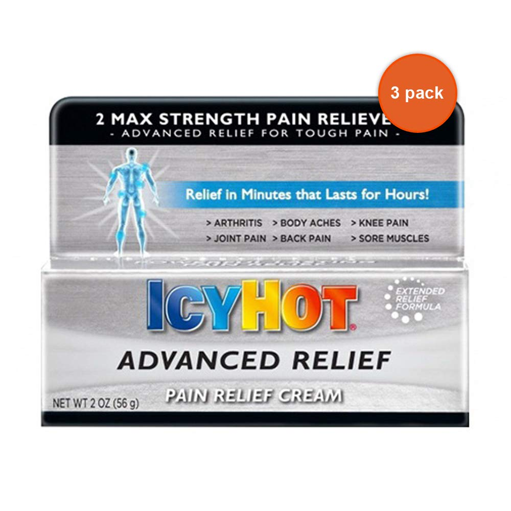 Icy Hot Adv Pain Relief C Size 2z Icy Hot Adv Pain Relief Cream 2z