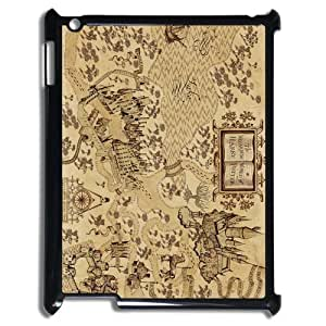 Awesome Magic Harry Potter Marauder's Map Hard Case Cover for Ipad 3 4