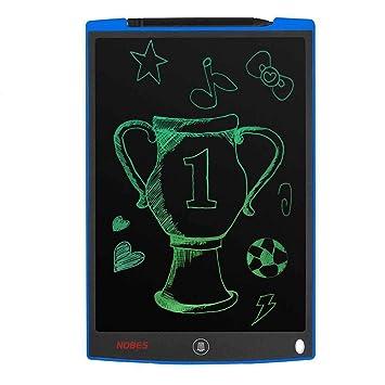 NOBES Tableta de Escritura LCD 12 Inch, LCD Tablero de Dibujo Gráfica Pizarra de Mensaje Memo Pad Electrónico con Lápiz Regalos para ...