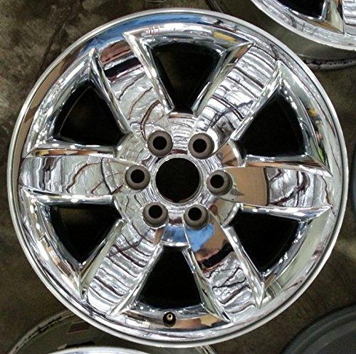 20 INCH 2009 2010 2011 2012 2013 2014 GMC YUKON SIERRA 1500 XL DENALI OEM CHROME ALLOY WHEEL RIM 5420 20X8.5 6X5.5 9597598 9597223 (20 Inch Chrome Rims And Tires For Sale)