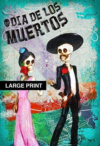 Dia De Los Muertos Mexican El Catrin La Catrina Illustration Art Print Vintage Giclee on Cotton Canvas and Satin Photo Paper (El Halloween En Mexico)