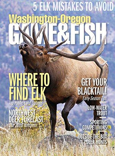Best Price for Washington/Oregon Game & Fish Magazine Subscription