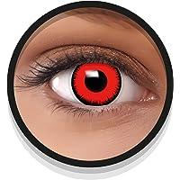 FXEYEZ Gekleurde Halloween Contactlenzen, Zachte Motief lens voor chique Jurk Kostuum, 2 stuks, 1 paar, Eenmalig gebruik…