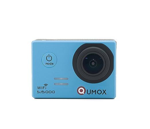 4 opinioni per QUMOX SJ5000 wifi, Azione fotocamera Sport, blu, macchina fotografica