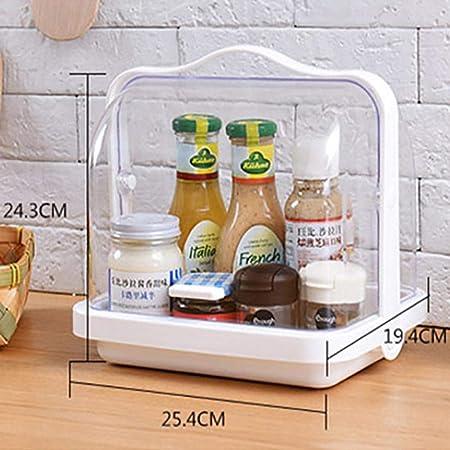 DSJ - Caja de Almacenamiento de plástico para Pan, para Desayuno, Cocina, Caja de Almacenamiento: Amazon.es: Hogar