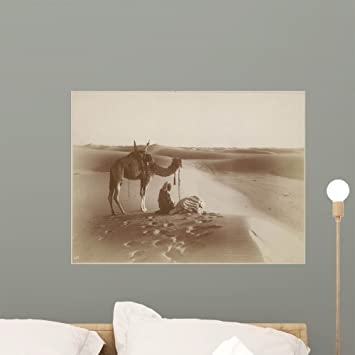 Image of: Sandstorm Amazoncom Desert Travelers Bow Praise Wall Mural By Wallmonkeys Peel And Stick Graphic 24 In 18 In H Wm145566 Home Kitchen Amazoncom Amazoncom Desert Travelers Bow Praise Wall Mural By Wallmonkeys