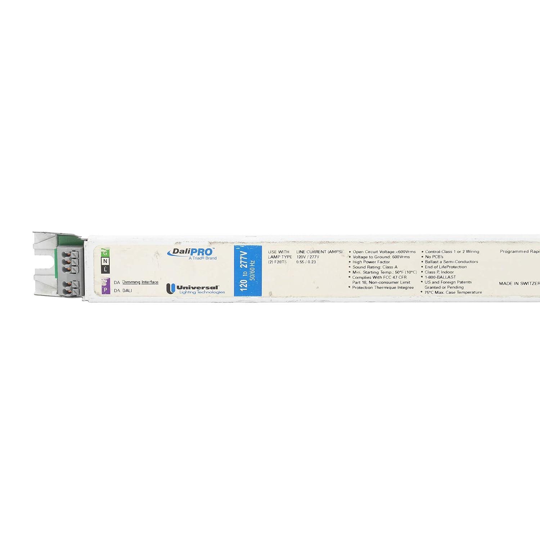 28W T5 120//277V 2-Lamp F28T5 Universal B228PUNVDV1 DALI Digital Dimming Ballast