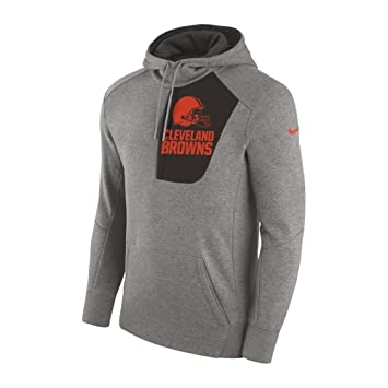 more photos 76e22 03225 Nike NFL Cleveland Browns Fly Fleece CD PO Hoodie XX Large ...