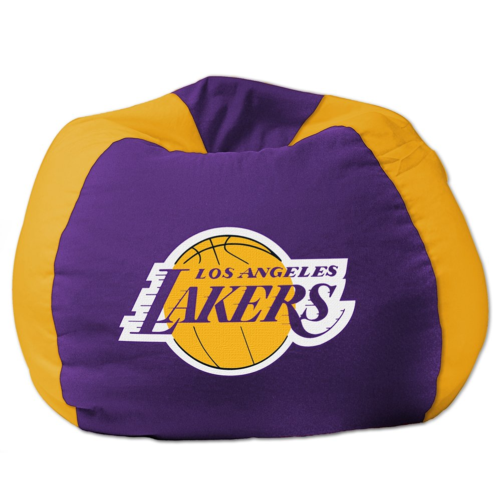 Amazon Los Angeles Lakers Bean Bag Chair Sports Fan Chairs Outdoors