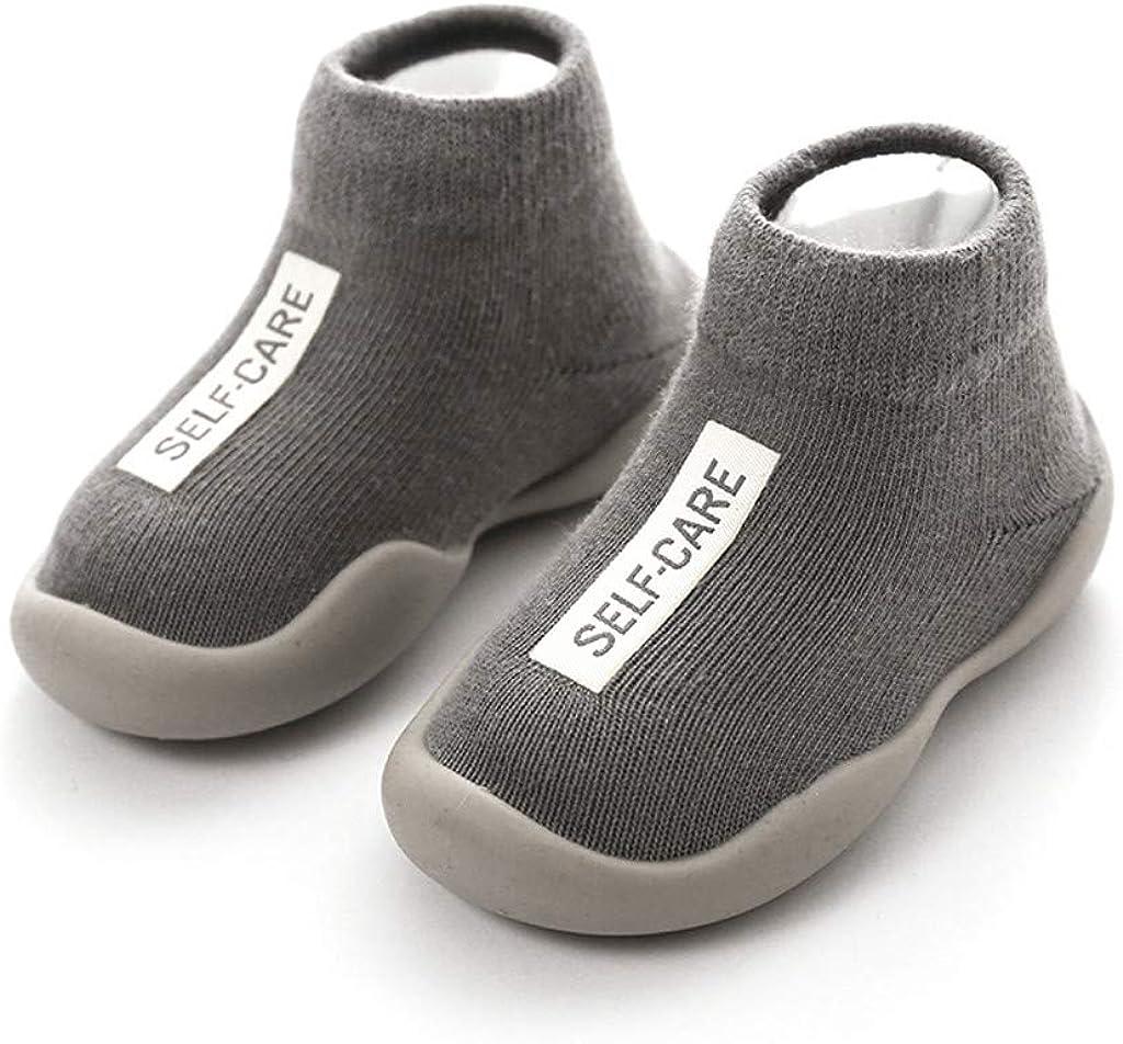 YWLINK Calzado Casual Infantil Zapatos De Goma Antideslizantes Calcetines De Punto Zapatos De Casa Oto/ñO Nuevas Botas Desnudas Zapatos para Beb/éS Y Ni/ñOs Reci/éN Nacidos Zapatos De Primer Paso