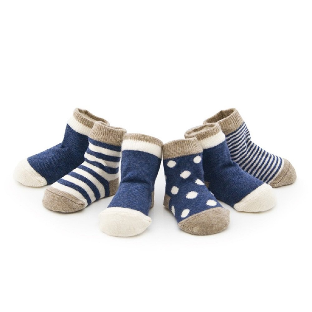 Set of 4 Pair DIDIDA Baby Socks and Toddler Socks for Girls and Boys